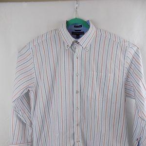 Tommy Hilfiger Men's Long Sleeve Large Shirt 80's